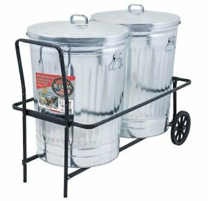 Behrens TCC 250-Pound Capacity Dual Trash Can Cart