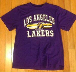 fcca4867ebd3 Los Angeles Lakers Shirt Youth XL 14-16 Reebok Shorts Large 14-16
