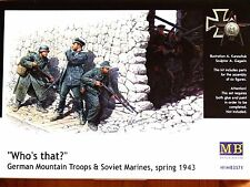 """Masterbox 1:35 """"Who's that?"""" German Troops and Soviet Marines 1943 Figures Kit"""