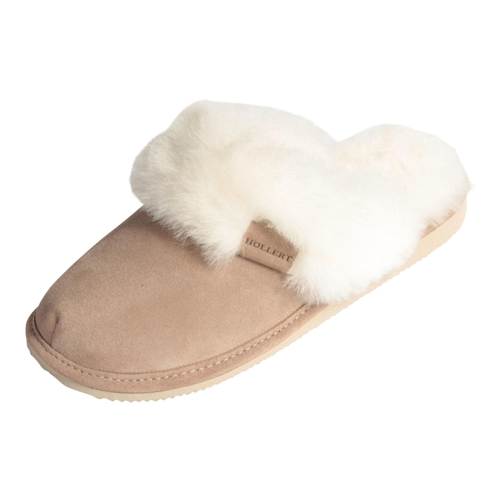 Pantofole in MALIBU pelle di agnello MALIBU MALIBU MALIBU in BIANCO pelliccia   6345d2