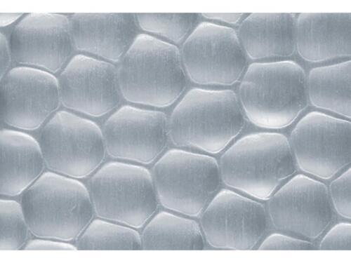 Strukturblech ALU gehämmert 120 x 1000 x 0,5mm