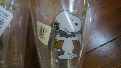 SET 2 Pottery Barn Peanuts Snoopy Cup Holiday Woodstock HALLOWEEN Vampire Mummy