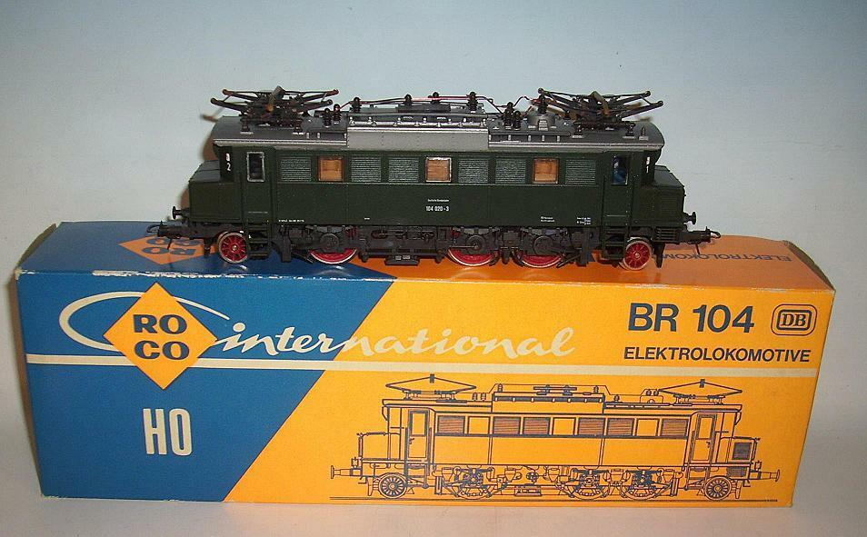 Roco h0 04144 s e-Lok br 104 020-3 en o-box  1197