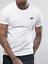 Nike Mens Core Embroidered Futura Club Crew T-Shirt Casual Gym Run S M L XL XXL