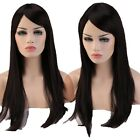 Vogue Women Ladies Long Hair Wig Top Quality Synthetic Straight Wavy Full Wigs #