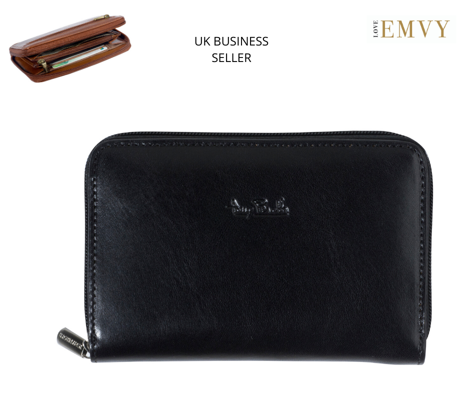 **SALE RRP Ladies Tony Perotti Italian Leather Coin Card Medium purse 2250