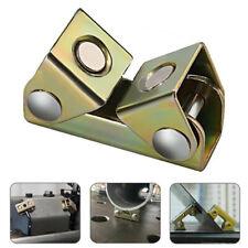 2x Adjustable Magnetic Welding Clamps V Type Pads Fixture Holder Strong Welder
