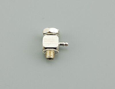 RC Hydraulik 90° Anschlussnippel abgewinkelt M5 aussen 4,0 mm Überwurfmutter