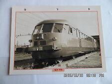 CARTE FICHE TRAIN ALN 556