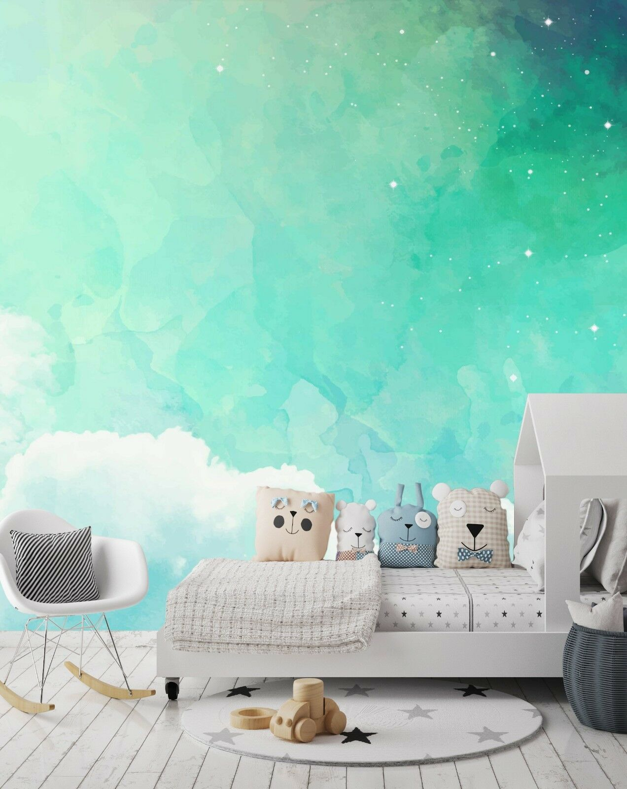 3D Green Fantasy 765 Wallpaper Mural Paper Wall Print Indoor Murals CA Summer