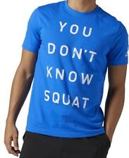 92bba2523 item 2 Reebok BQ83 Mens Training 'You Don't Know Squat' Graphic Tee  Athletic Fitness -Reebok BQ83 Mens Training 'You Don't Know Squat' Graphic  Tee Athletic ...