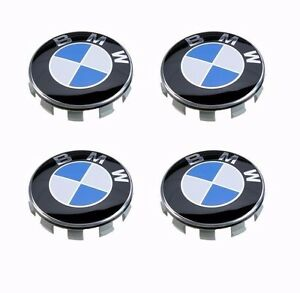 4Pcs-Genuine-BMW-Emblem-Logo-Badge-Hub-Wheel-Rim-Center-Cap-68mm-Set-of-4-grey