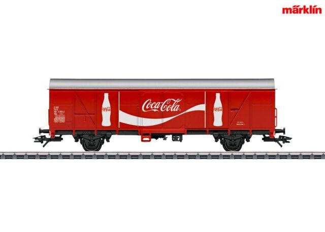 "Märklin 47366 Gedeckter Güterwagen Gbs ""Coca-Cola"" ++ NEU in OVP"