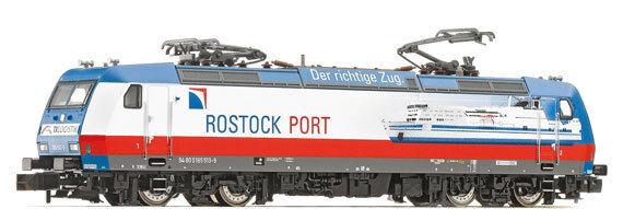 Fleischmann 738705 elektrolokomotive BR 185 della TX-logistica epoca vi Spur N