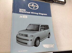 2005 Toyota SCION xB XB Electrical Wiring Diagram Service ...
