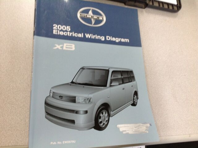 2005 Toyota Scion Xb Xb Electrical Wiring Diagram Service