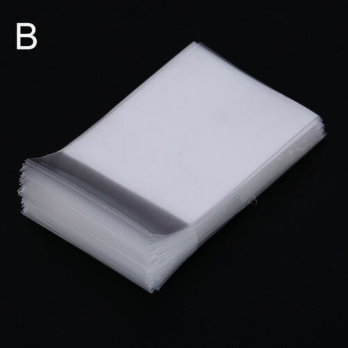 100pcs transparent cards sleeves card protector board game cards magic sleeve IH