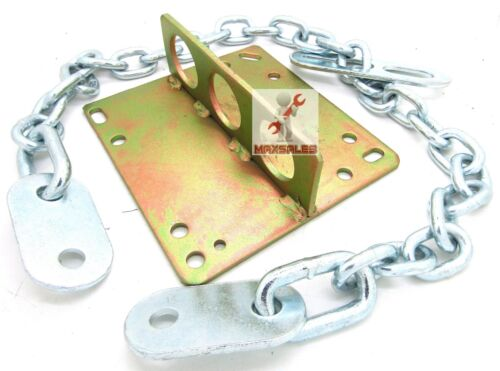 "Engine Motor Lifting Hoist Remove PLATE /& 36/"" x 8mm Engine Lifting Chains Sling"