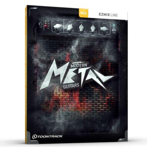 Toontrack EZmix Pack Modern Metal Guitars Serial