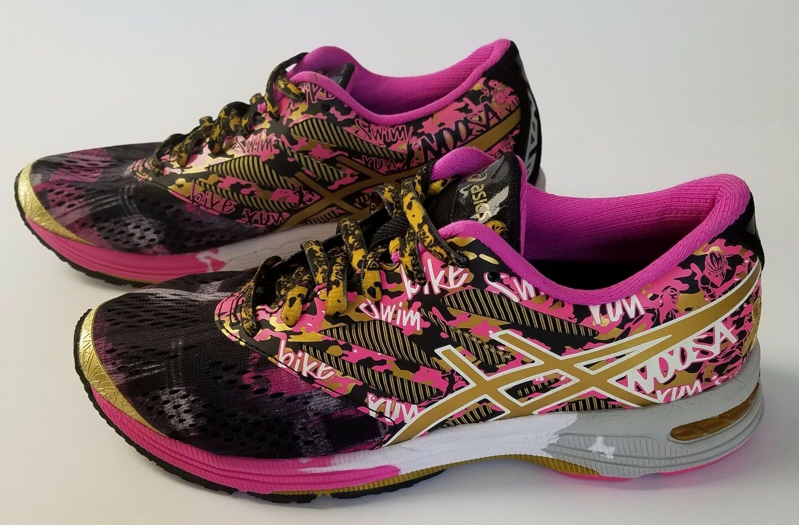 ASICS Women's GEL-Noosa Tri 10 Gold Ribbon Running Shoes Comfortable Comfortable and good-looking