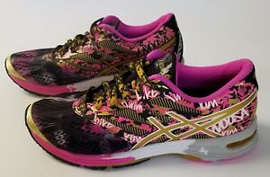 a387cb605a ASICS Women s GEL-Noosa Tri 10 Gold Ribbon Running Shoes Size 6 ...