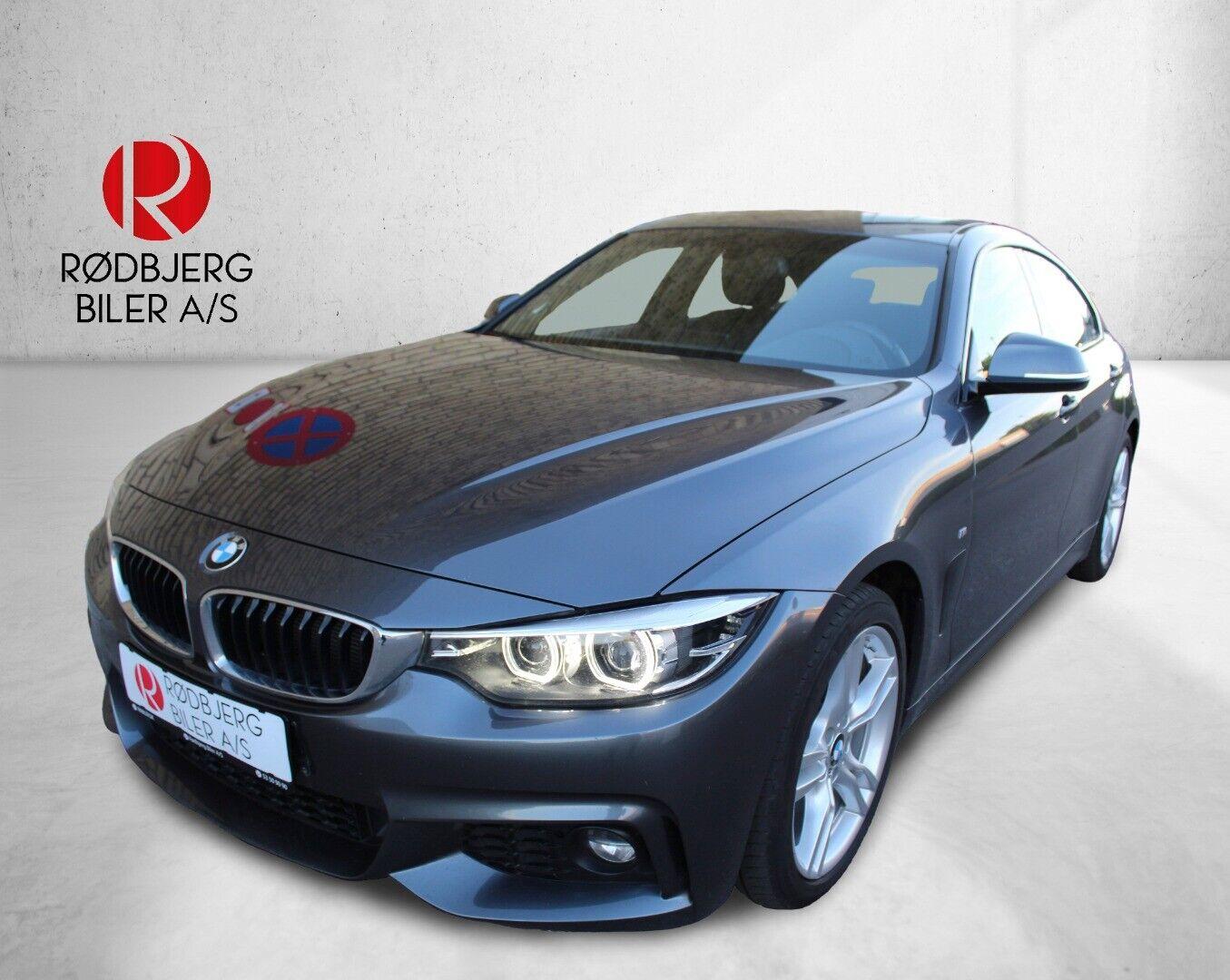 BMW 420d 2,0 Gran Coupé M-Sport aut. 5d - 319.800 kr.