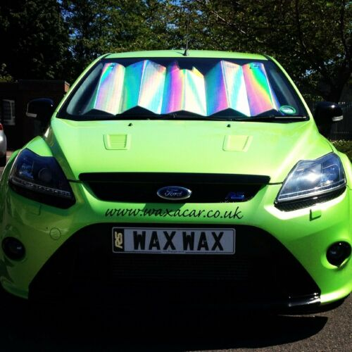 Front Window Car Windscreen UV Laser Foil Sun Shade Block Screen for Mazda MX5