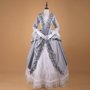63aa712930 Image is loading Ladies-Victorian-Renaissance-Baroness-Costume -Ball-gown-Fancy-