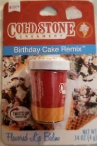 Fine Cold Stone Creamery Tub Shaped Lip Balm Birthday Cake Remix Ebay Personalised Birthday Cards Fashionlily Jamesorg