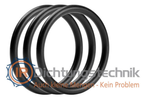 O-Ring Nullring Rundring 60,0 x 4,0 mm EPDM 70 Shore A schwarz Atemregler 3 St.