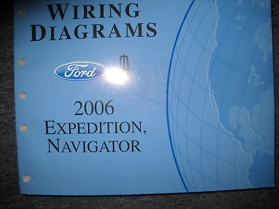 2006 Lincoln Navigator & Ford Expedition Electrical Wiring ...