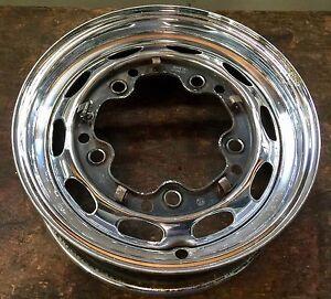 Porsche 356 356a 356b Chrome Kpz 4 1 2x15 Steel Wheel Ebay