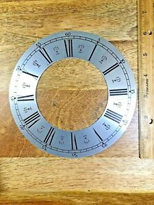 New Old Stock 6 1/4 Inch Metal Clock Chapter Ring  (Lot KA4032)