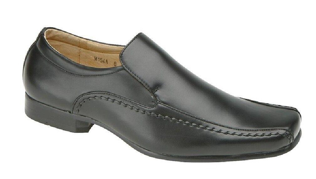Goor Mens Formal Tram-line Casual Slip On Formal Mens Shoes e6b689
