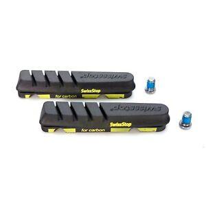 Black Inc Carbon Brake Pads Fits Sram and Shimano 4pcs//set –For Carbon Rims