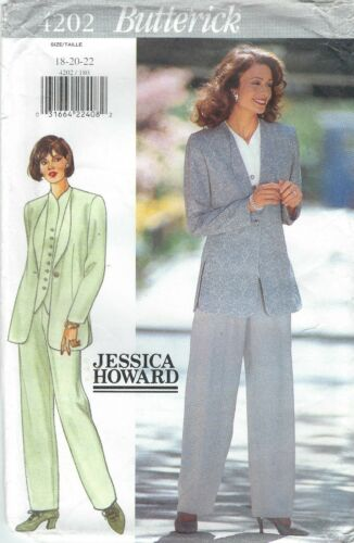 Top and Pants    Sewing Pattern Butterick 4202 Misses/' Jacket