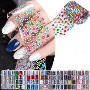 Manicure-Decor-Laser-Transfer-Nail-Foils-Starry-Nail-Art-Stickers-Leopard-print
