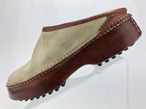 Cole-Haan-Country-Clogs-Off-White-Casual-Mule-Shoes-Comfort-Women-039-s-Size-6-B
