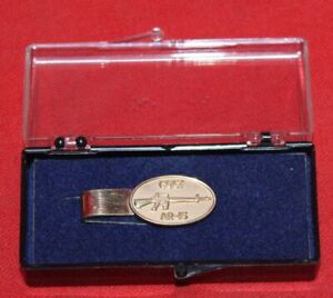 COLT-Firearms-Factory-Tie-Bar-Mint-Rare-1-of-20-12k-gf