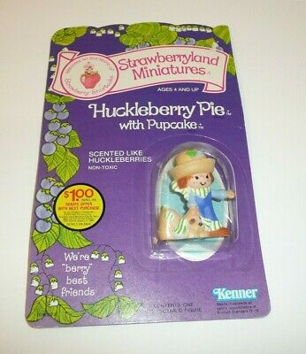 1982 Strawberryland Miniatures Huckleberry Pie