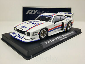 Slot-car-SCX-Scalextric-Fly-88144-Ford-Capri-RS-Turbo-DRM-Norisring-1982