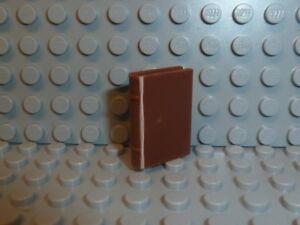 LEGO-Harry-Potter-Minifigur-Utensil-1x-Zauberbuch-braun-33009-4842-4754-F1346