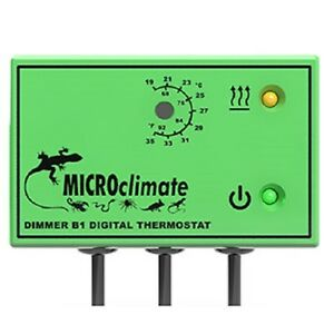 Microclimate B1 Dimmer Stat 600w For Reptiles Green Ebay