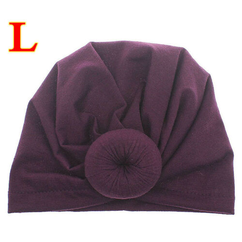 Cute Baby Girl Kids Headband Headwrap Knotted Bow Turban Hair Band Headdress