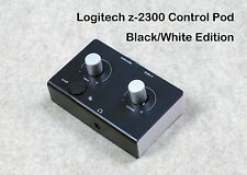 Logitech Z-2300 Computer Speakers B/W Replacement Control Pod Black Over White
