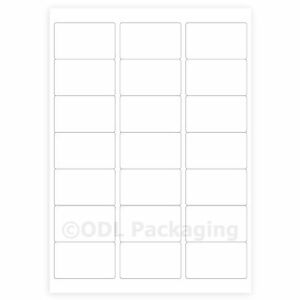 105-White-Address-Labels-21-per-A4-Sheet-Laser-Inkjet