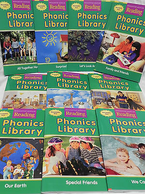 Phonics Library Reading Set Of 10 Books 1st Grade Level 1 Houghton Mifflin EBay
