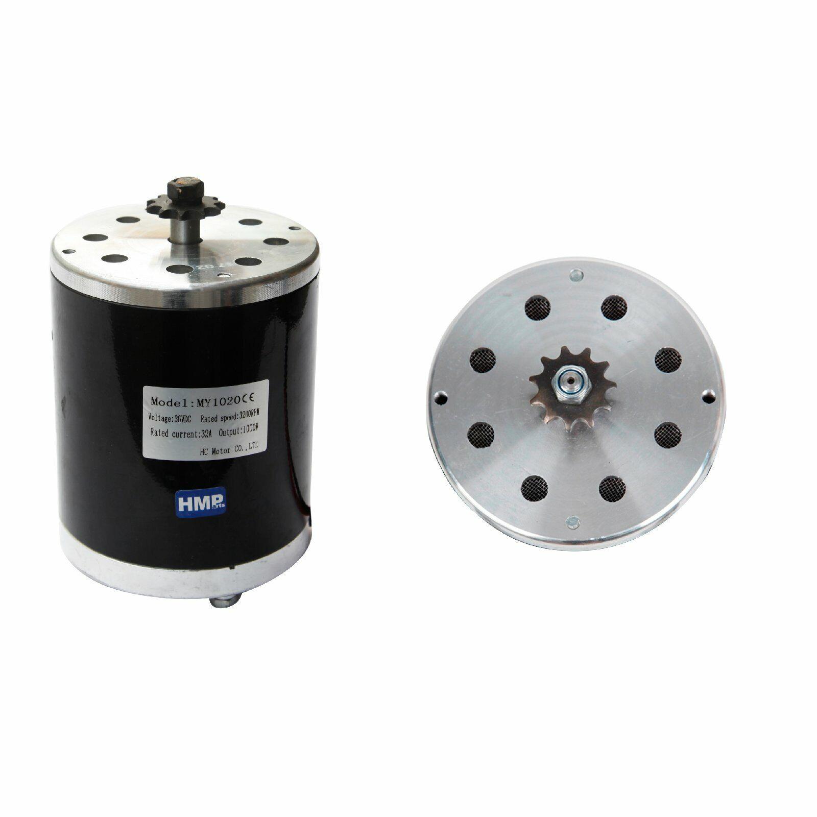 Hmparts Motore Elettrico EMotorino per P. Es. Mach 1 36V 1000 W My 1020 Dc