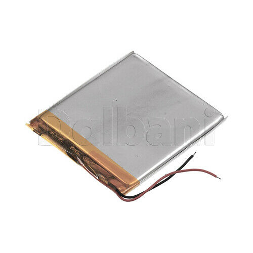 406065, Internal Lithium Polymer Battery 3.8V 40x60x65mm