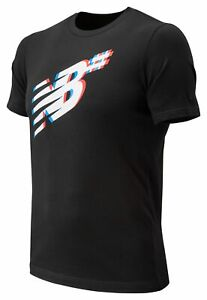 New-Balance-Men-039-s-Numeric-Shadow-Short-Sleeve-Tee-Black